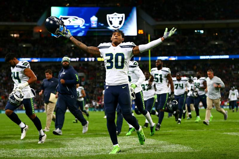 The Seahawks' victory on Sunday was the first of three matches taking place at Wembley: Getty Images