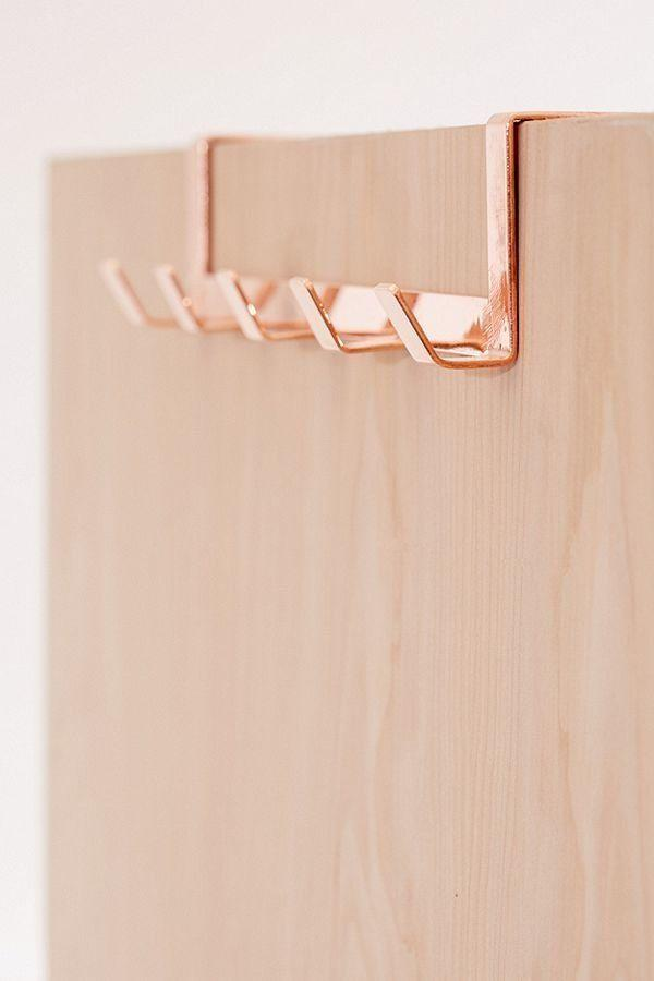 """Get it <a href=""""https://www.urbanoutfitters.com/shop/yamazaki-minimal-over-the-door-hook?category=bathroom-accessories&color=068&quantity=1&size=ONE%20SIZE&type=REGULAR"""" target=""""_blank"""">here</a> for $20."""