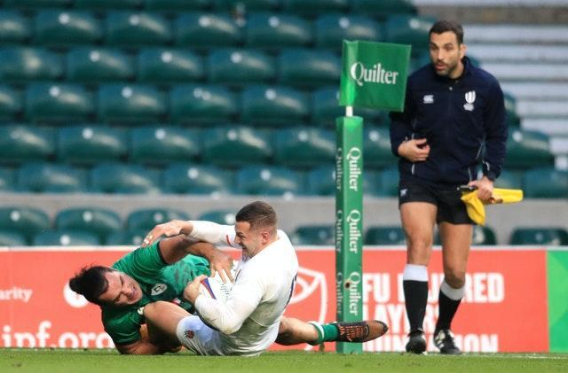 The Autumn Nations Cup is being played behind closed doors
