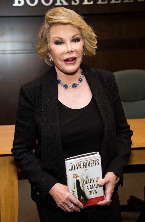 Joan Rivers. Credit: Getty Images
