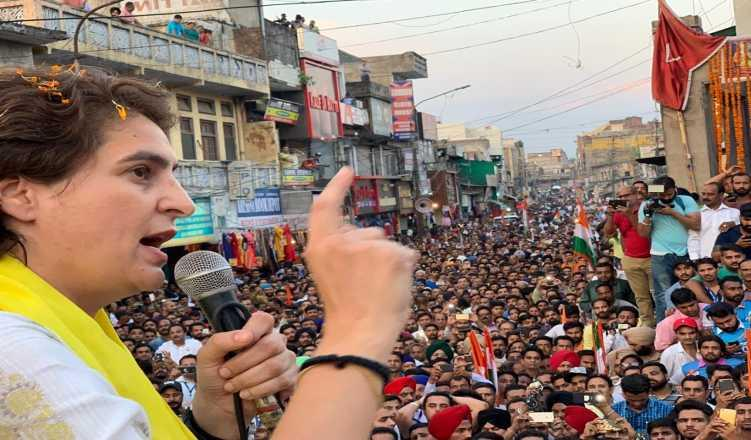 Priyanka's charm offensive failed in Uttar Pradesh, if exit polls are right