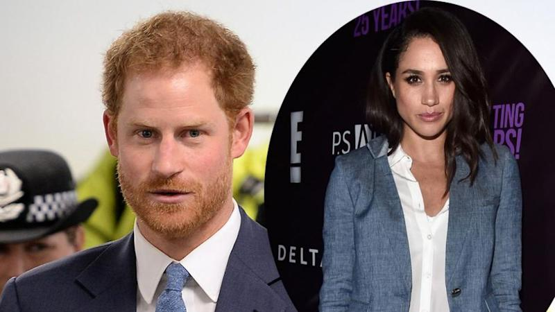 Prince Harry confirmed his relationship with Meghan Markle this week. Source: Getty