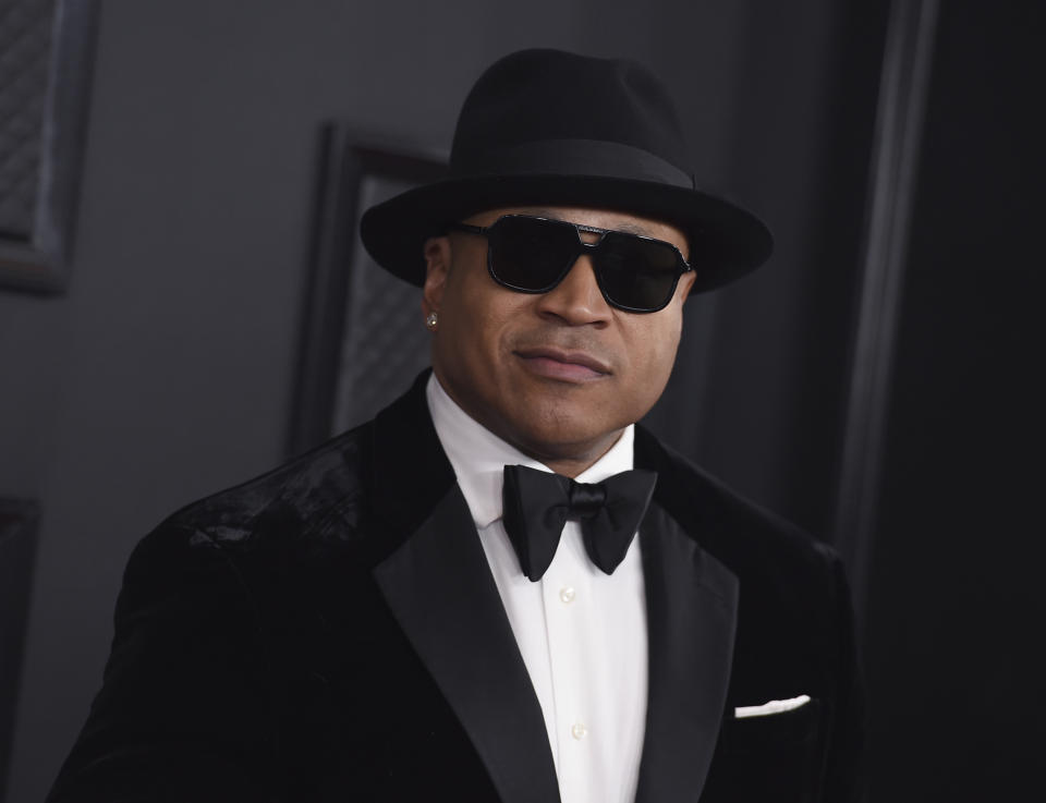 LL Cool J arrives at the 62nd annual Grammy Awards at the Staples Center on Sunday, Jan. 26, 2020, in Los Angeles. (Photo by Jordan Strauss/Invision/AP)