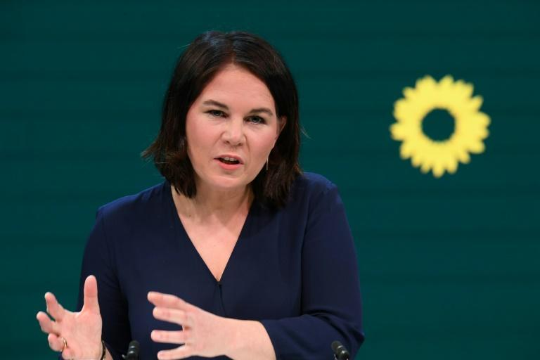 Green party leader Annalena Baerbock hopes to become the next German chancellor