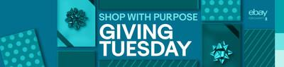 eBay for Charity Giving Tuesday