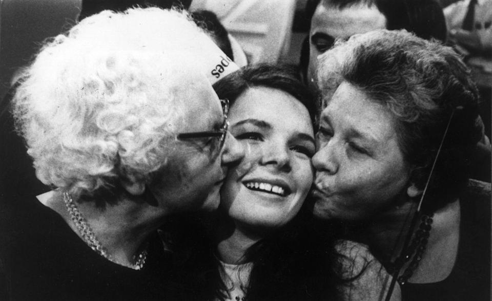"<p>Bereits siebenmal kam der Eurovision-Gewinner von der grünen Insel: Erste Gewinnerin für Irland war 1970 die damals 20-jährige Sängerin Dana, die mit dem Titel ""All Kinds Of Everything"" antrat. (Bild: Keystone/Getty Images)</p>"