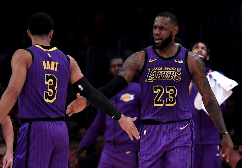 LeBron James is the first Lakers player since Kobe Bryant to have multiple 40-point games in a season
