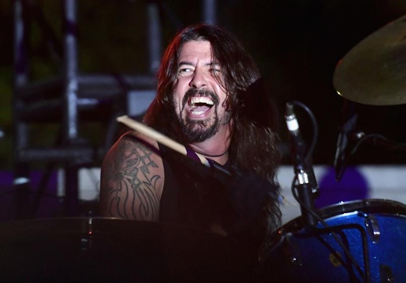 Foo Fighters' Dave Grohl battles 10-year-old drum prodigy