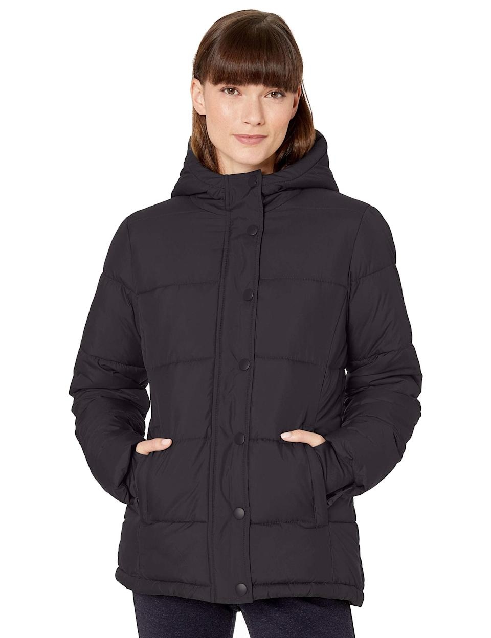 "<br><br><strong>Amazon Essentials</strong> Hooded Puffer Coat, $, available at <a href=""https://amzn.to/2SPhUHE"" rel=""nofollow noopener"" target=""_blank"" data-ylk=""slk:Amazon Fashion"" class=""link rapid-noclick-resp"">Amazon Fashion</a>"