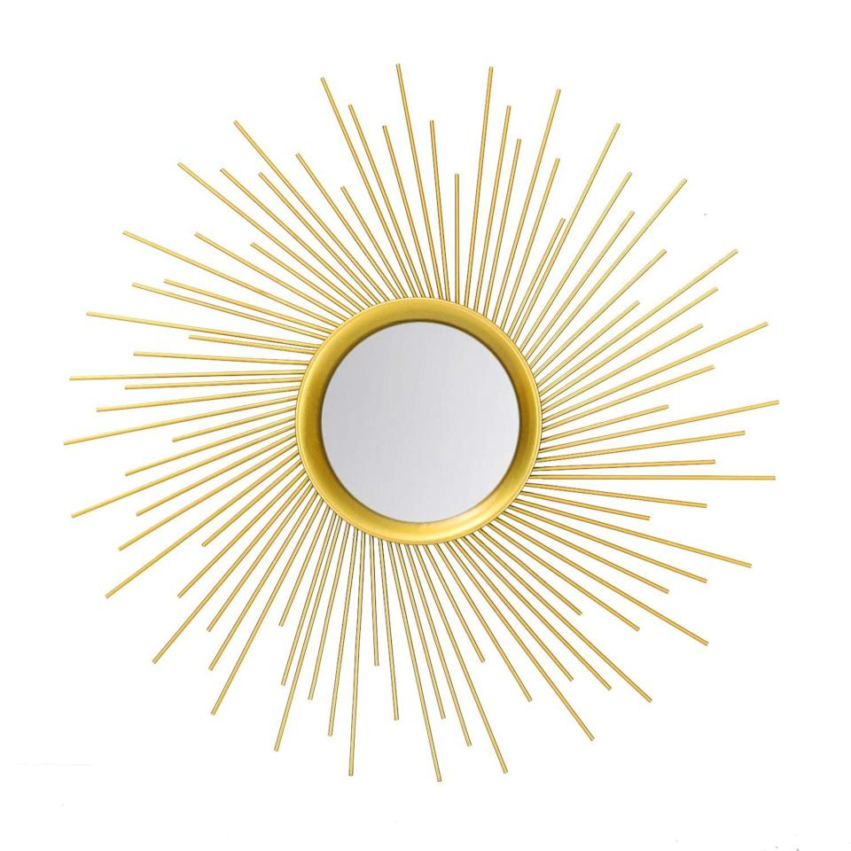 <p>Hang this statement <span>Adeco Home Collection Sunburst Mirror</span> ($50, originally $57) in your hallway.</p>