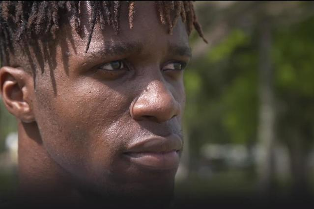 'Coming home' - watch Crystal Palace star Wilfried Zaha's emotional return to Ivory Coast for first time in 20 years