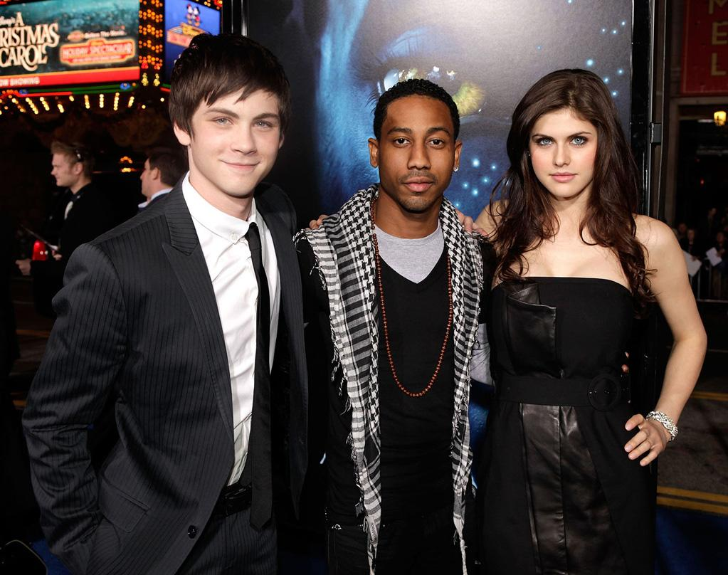 "<a href=""http://movies.yahoo.com/movie/contributor/1800490496"">Logan Lerman</a>, <a href=""http://movies.yahoo.com/movie/contributor/1809251076"">Brandon T. Jackson</a> and <a href=""http://movies.yahoo.com/movie/contributor/1809726715"">Alexandra Daddario</a> at the Los Angeles premiere of <a href=""http://movies.yahoo.com/movie/1809804784/info"">Avatar</a> - 12/16/2009"