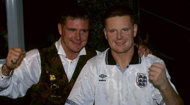 <p>Gazza in his early-90s pomp. </p>