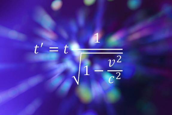 This equation of special relativity describes time dilation.