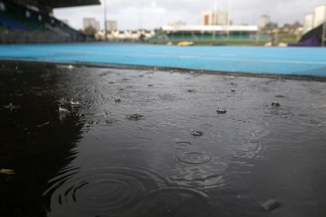 The Women's Six Nations match between Scotland and England at Scotstoun Stadium in Glasgow was postponed. (Getty)
