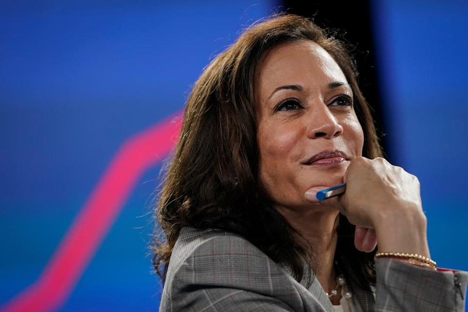 Kamala Harris was named as Joe Biden's running mate this week. She has since faced an onslaught of racist and sexist attacks.