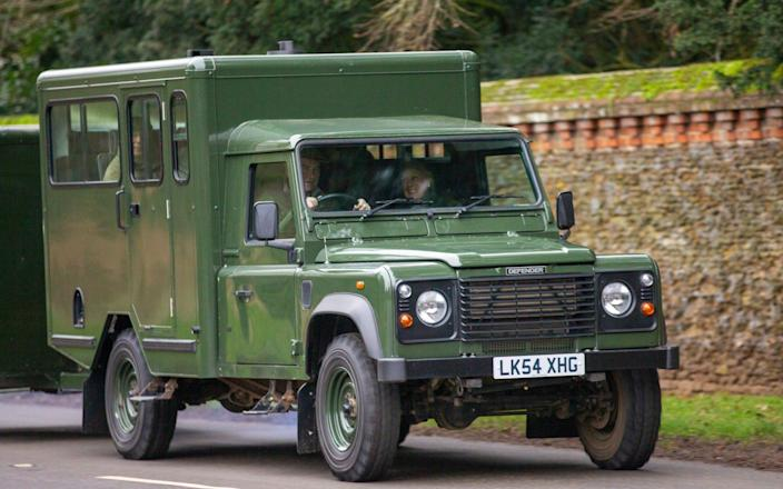 Land Rover Defender - Splash News/Splash News