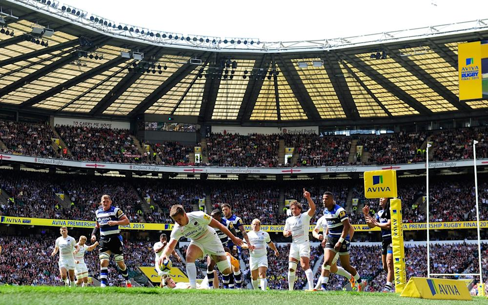 Bath at Twickenham - Credit: GETTY IMAGES