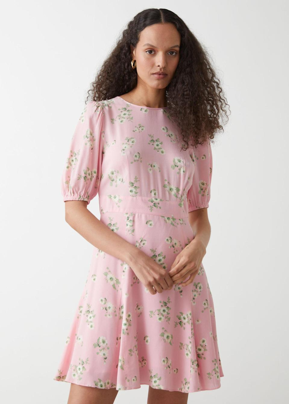 <p><span>&amp; Other Stories Puff Sleeve Mini Dress</span> ($50, originally $89 (plus 30% off with code SUMMER30))</p>