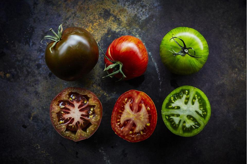 <p>When tomatoes are in season—and only when tomatoes are in season—pluck the ripest one you can find, cut a huge slice from the middle, stick it between a burger bun slather with some mayo, and chow down. Now <em>that's </em>plant-based.</p>