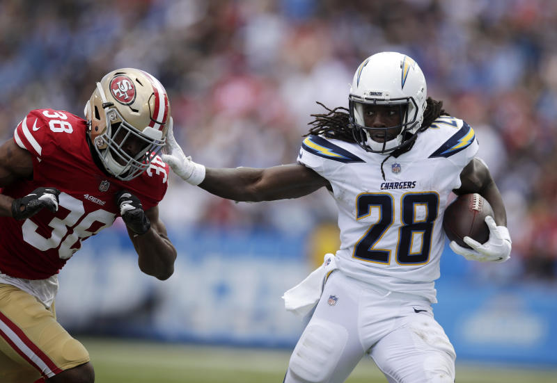 Rivers throws for 3 TDs as Chargers rally to beat 49ers 0e9842b3f