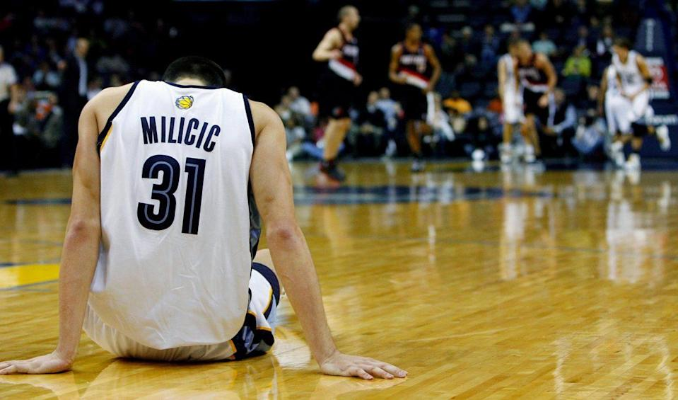 Darko reached a new low in Memphis. (AP)