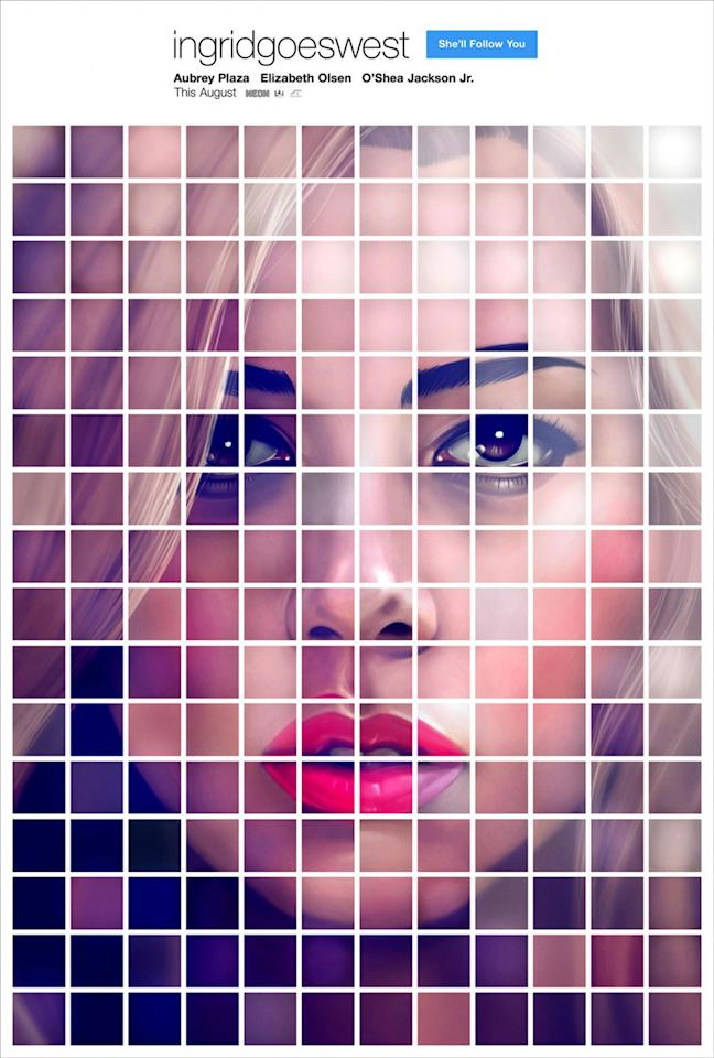 <p>It's not hard to make Aubrey Plaza look good, but this sumptuous, Instagram-inspired poster for her stalker movie is devilishly handsome. Other movies have flirted with social media styles (most notably 'Martha Marcy May Marlene' with its fetching QR code look) but this gets a big 'Like' from us. Get it? Because on social media, a 'like' is… never mind. </p>