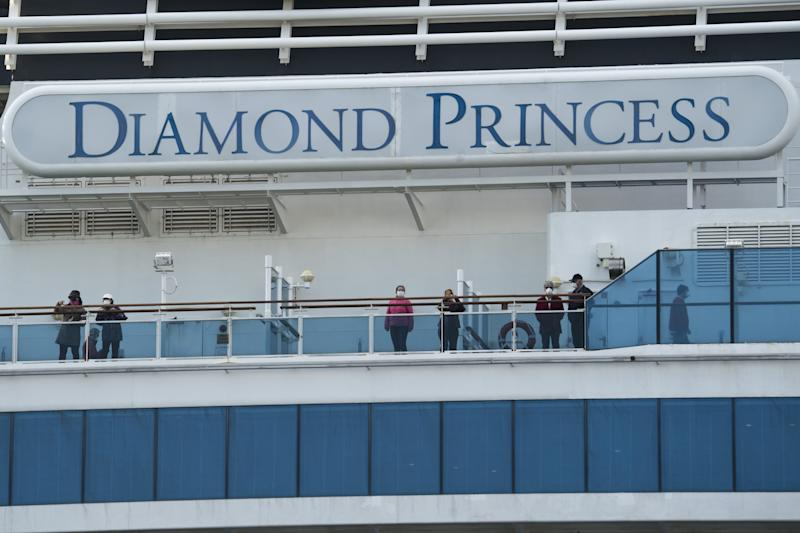The CDC found traces of COVID-19 on cabin surfaces on the Diamond Princess 17 days after passengers had left therooms.