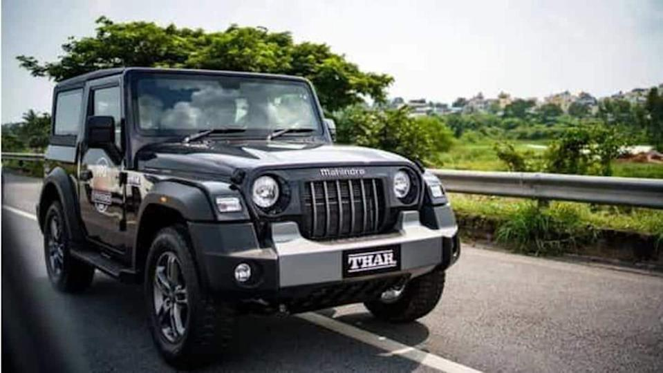 Mahindra receives 55,000 bookings for Thar SUV in eight months