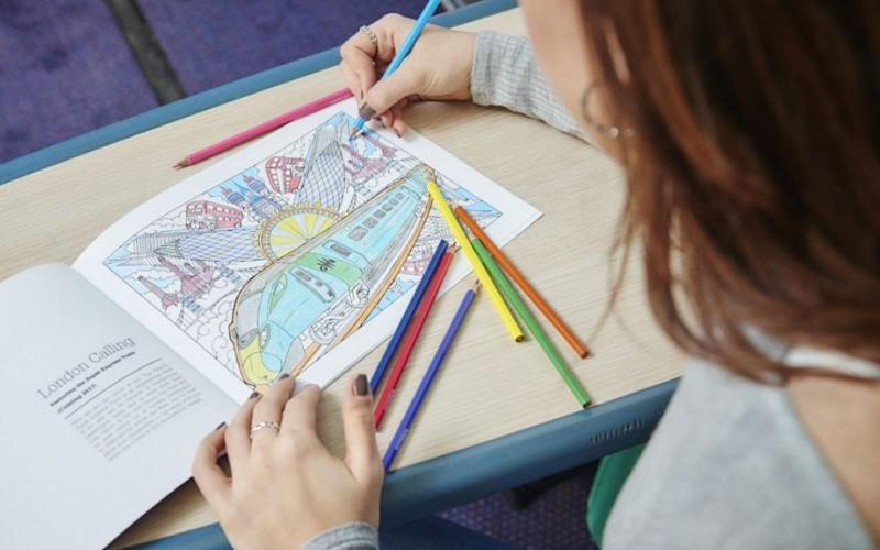 Adult colouring has helped push book sales in the last two years