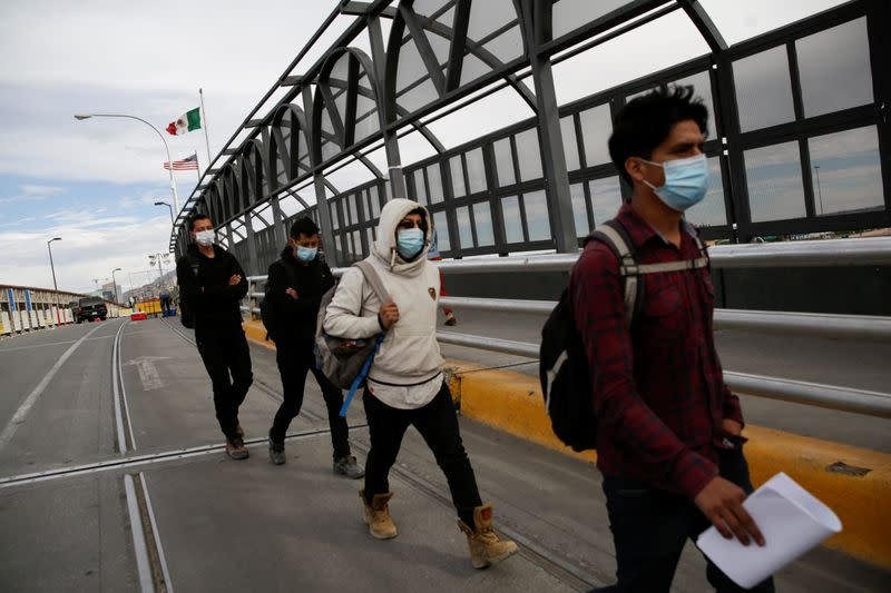 Migrant smugglers see boost from U.S. pandemic border policy