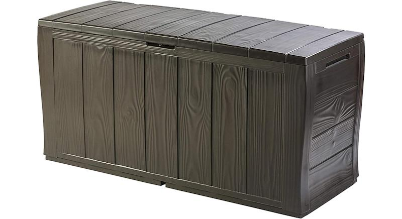 Keter Sherwood Outdoor Plastic Storage Box Garden Furniture