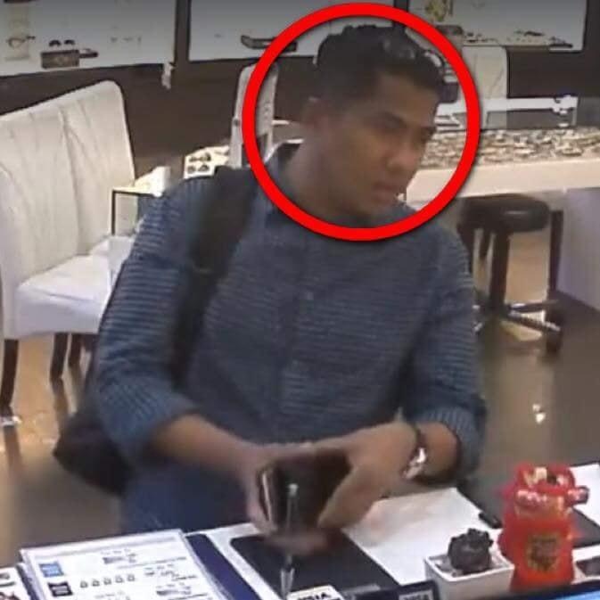 Image of the alleged suspect