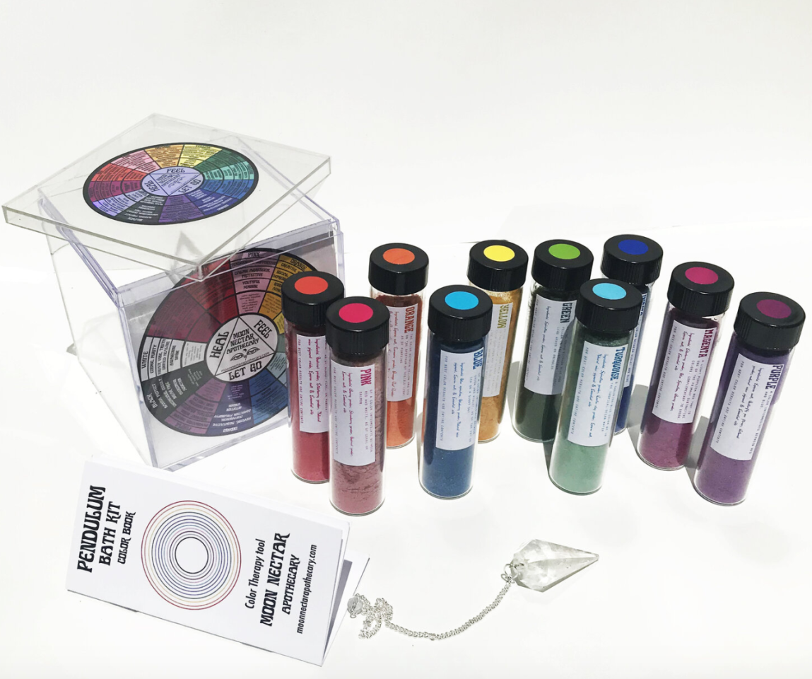 """<p>""""Winter can be very cold and drab, so this magical kit comes with an array of colors to help uplift your mood during the holiday doldrums,"""" the mystic explains. </p>"""