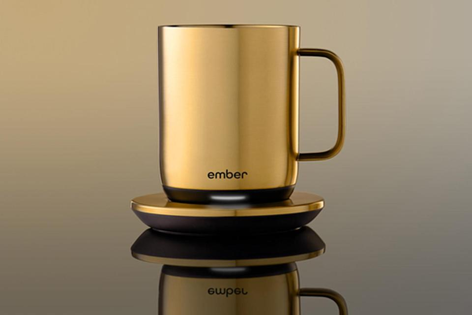 """<p>There's really nothing worse than picking up your mug of coffee and finding out that it's already gone cold. The Ember Mug lets you pick your exact desired temperature and maintains it for up to 1.5 hours! </p> <p><strong>Buy It! </strong>The Ember Mug, $129.95; <a href=""""https://ember.com/products/ember-mug-2"""" rel=""""nofollow noopener"""" target=""""_blank"""" data-ylk=""""slk:ember.com"""" class=""""link rapid-noclick-resp"""">ember.com</a></p>"""