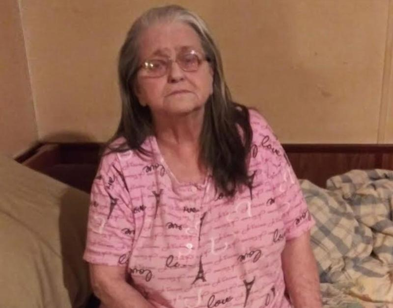 Angela Haislip's 70-year-old mother, Charlotte, lost power to the mobile home she shares with her husband, who is recovering from a severe stroke. (Photo: Courtesy of Angela Haislip)