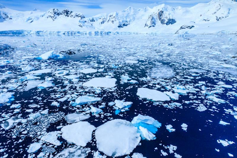 Paradise Bay is located just north of the Lemaire Strait, one of two places on the west side of the peninsula where you can easily set foot on the Antarctic Continent.