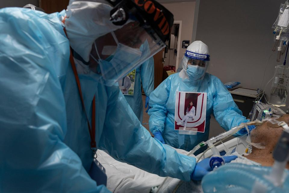 <p>The government is to spend £55 billion tackling coronavirus</p> (Go Nakamura/Getty Images)