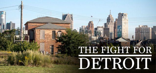 Read more about the people trying to turn Detroit around, about the politics involved in keeping the city running, and how, along with the blight, there is hope.