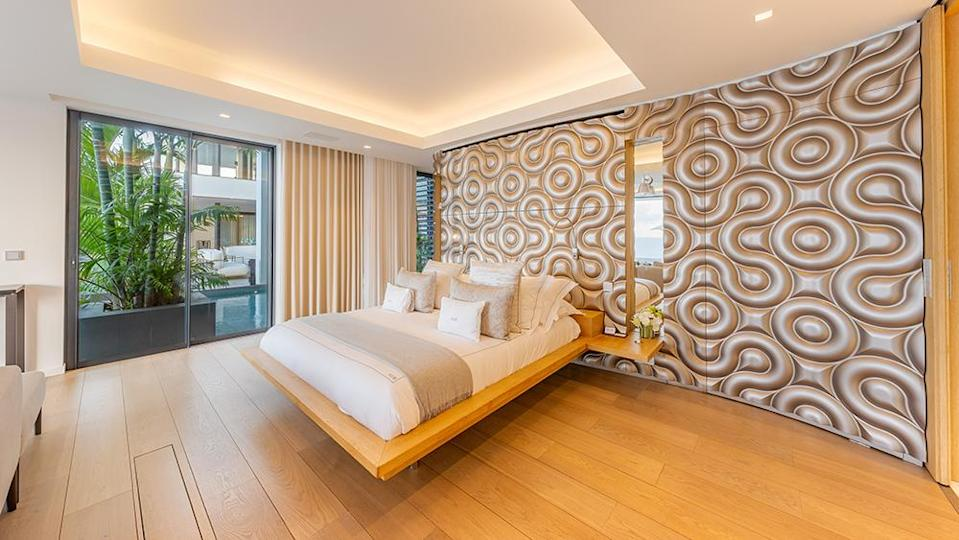 One of the bedrooms. - Credit: Photo: LEONARD MURAO/GLOBAL EXTREME