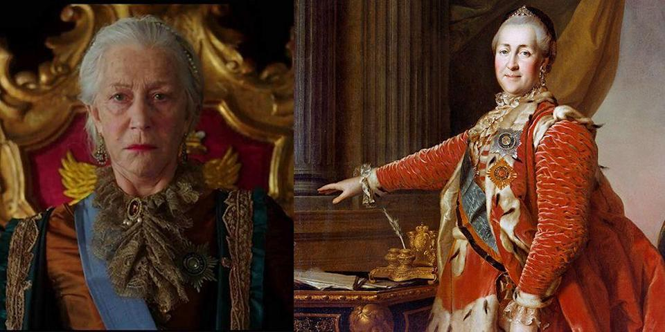 <p>Dame Helen Mirren played yet another Queen — this time in imperial Russia — in HBO's <em>Catherine the Great</em>. </p>