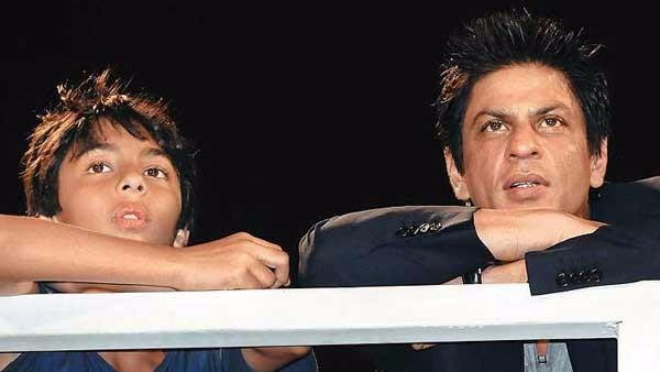 Watch: Throwback Time With SRK & a Young Aryan Khan