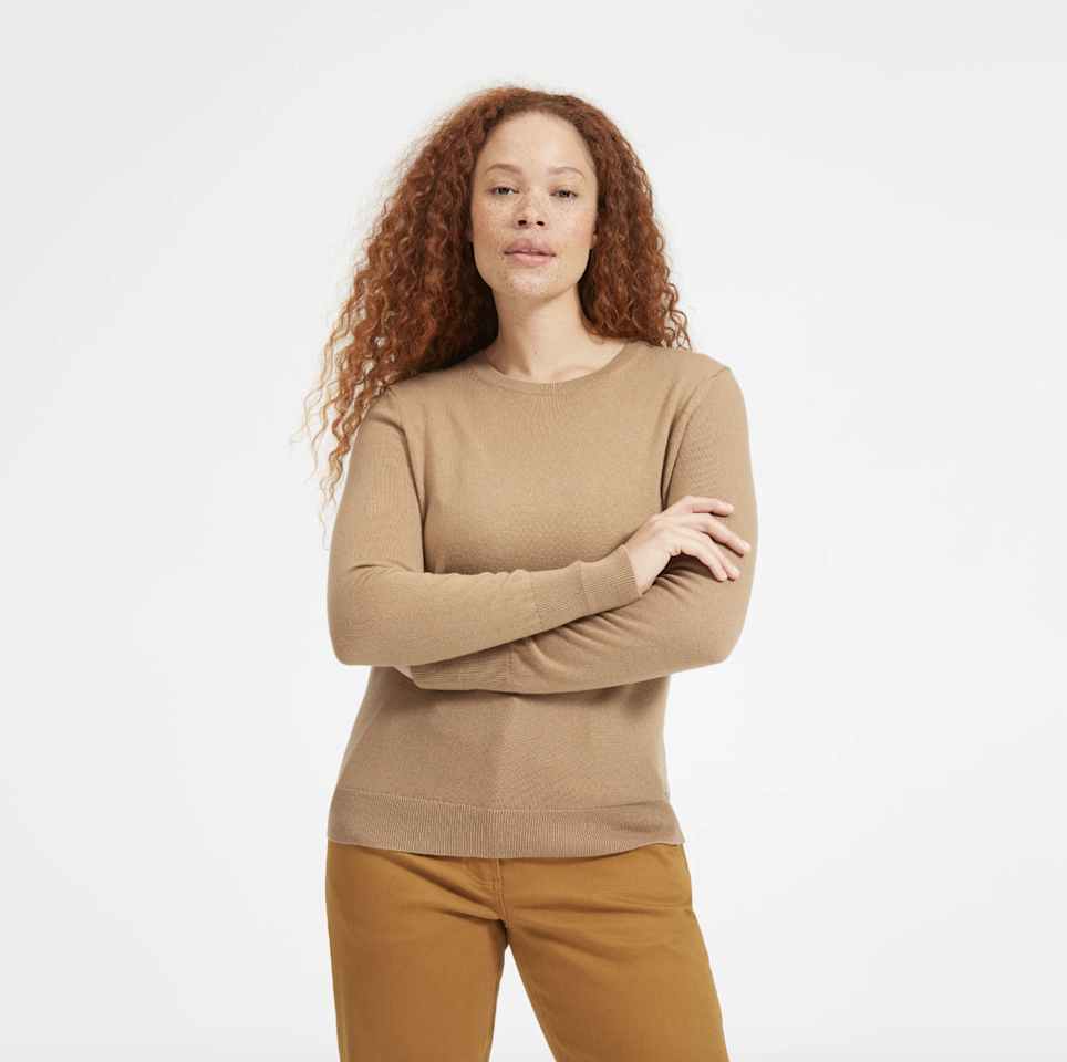 "Everyone wants cashmere for the holidays, and thankfully, there are plenty of <a href=""https://www.glamour.com/gallery/best-cashmere-sweaters-for-women-under-100?mbid=synd_yahoo_rss"" rel=""nofollow"">a</a><a href=""https://www.glamour.com/gallery/best-affordable-cashmere-sweaters-to-buy-now?mbid=synd_yahoo_rss"" rel=""nofollow"">ffordable cashmere</a> options out there. One of our favorites is by <a href=""https://www.everlane.com"" rel=""nofollow"">Everlane</a> because it has 17 options priced at $100—and they each come in more than 10 colors. $100, Everlane. <a href=""https://www.everlane.com/collections/womens-100-dollar-cashmere"">Get it now!</a>"