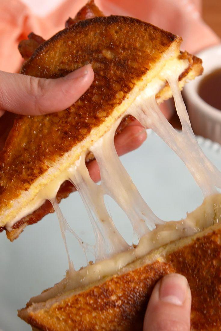 """<p>Not your grandma's grilled cheese. (Unless your grandma is fancy.)</p><p>Get the recipe from <a href=""""/cooking/recipe-ideas/recipes/a52626/french-toast-grilled-cheese-recipe/"""" data-ylk=""""slk:Delish"""" class=""""link rapid-noclick-resp"""">Delish</a>.</p>"""