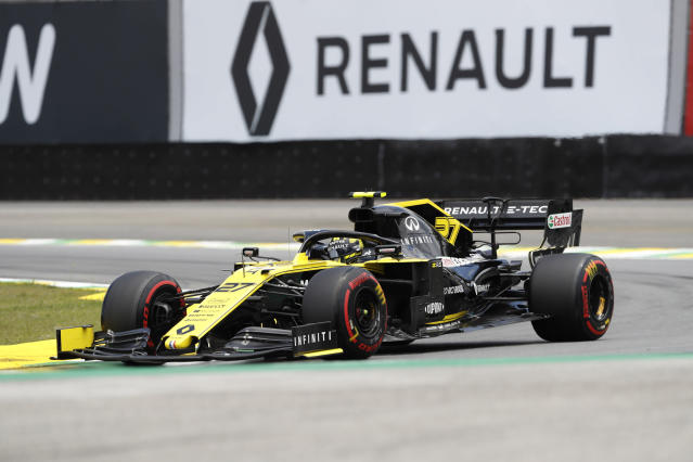 Renault haven't had a driver reach the podium since 2016. (AP Photo)
