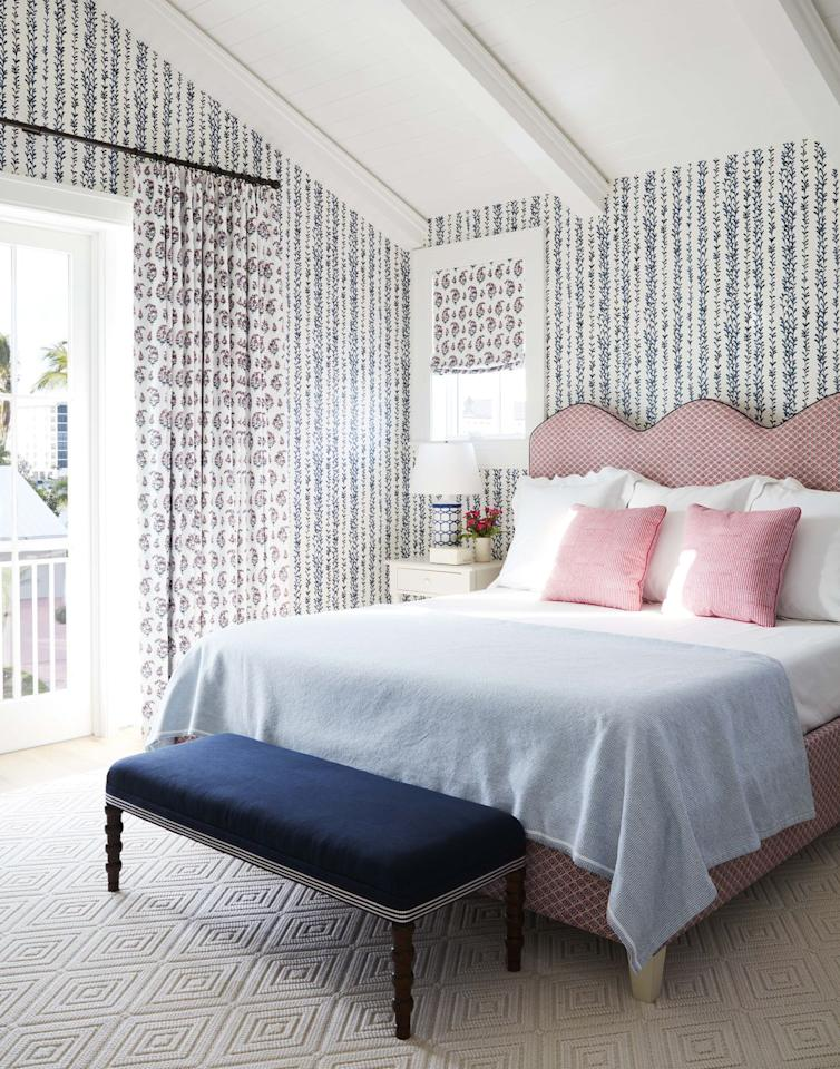 """<p>""""I feel like one bedroom in every house needs to have wallpaper"""