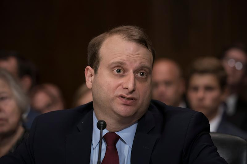 It turns out that you can be confirmed to a lifetime federal judgeship even if you've never tried a case in court, have said awful things about women's rights and engaged in illegal activity on behalf of the Education Department. (Photo: ASSOCIATED PRESS)