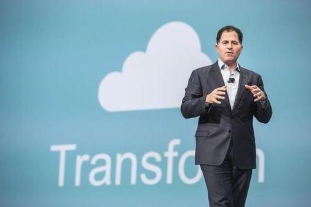 Michael Dell, chief executive of Dell Inc, delivers his keynote speech at the All Things Oracle OpenWorld Summit in San Francisco, California September 25, 2013. REUTERS/Jana Asenbrennerova
