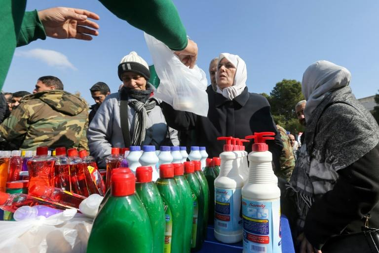 Faced with an economic crisis the government of war-torn Syria has started rationing subsidised food
