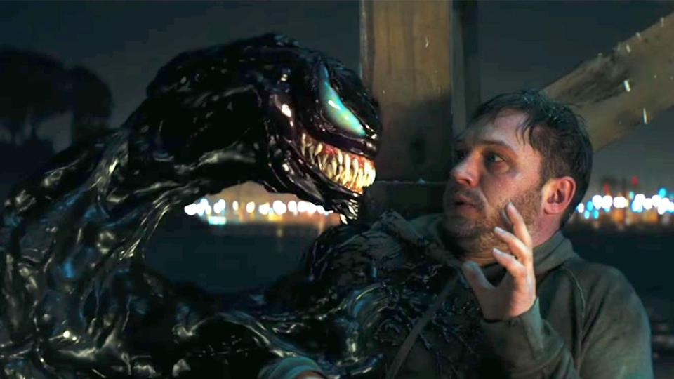 Tom Hardy in Venom (Credit: Sony Pictures)